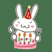 Cute rabbit NAOKICHI sticker #285255