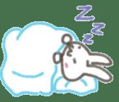 Cute rabbit NAOKICHI sticker #285257