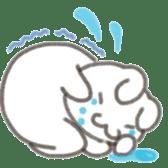Cute rabbit NAOKICHI sticker #285260