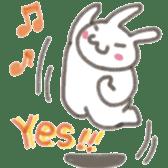 Cute rabbit NAOKICHI sticker #285262