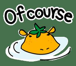 Orange Hippo sticker #285884
