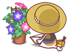 Nyagoes in summer(english edition) sticker #285949