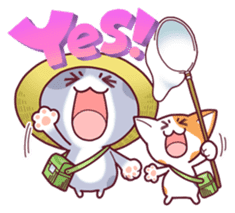 Nyagoes in summer(english edition) sticker #285951