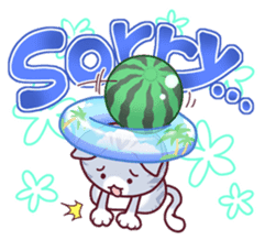Nyagoes in summer(english edition) sticker #285955