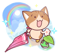 Nyagoes in summer(english edition) sticker #285958