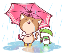 Nyagoes in summer(english edition) sticker #285959
