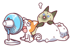 Nyagoes in summer(english edition) sticker #285964