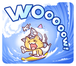 Nyagoes in summer(english edition) sticker #285967