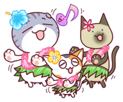 Nyagoes in summer(english edition) sticker #285972