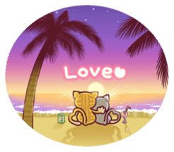 Nyagoes in summer(english edition) sticker #285978