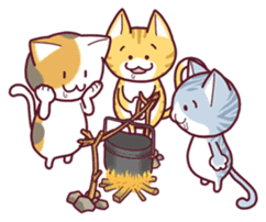 Nyagoes in summer(english edition) sticker #285980
