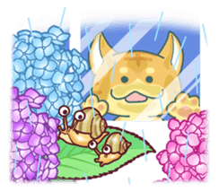 Nyagoes in summer(english edition) sticker #285981