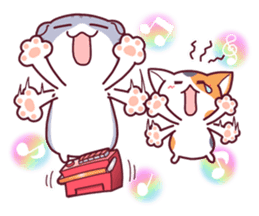 Nyagoes in summer(english edition) sticker #285982