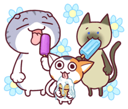 Nyagoes in summer(english edition) sticker #285983