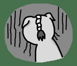 The Samurai Cat English sticker #286203