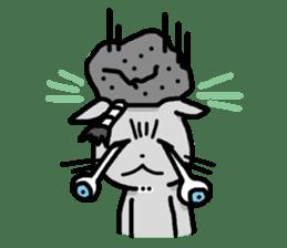 The Samurai Cat English sticker #286218
