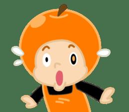 Apple & Orange sticker #286266
