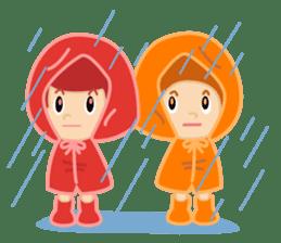 Apple & Orange sticker #286285