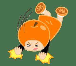Apple & Orange sticker #286292