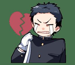 Gakuran is cute! sticker #286559