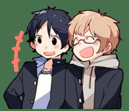 Gakuran is cute! sticker #286575