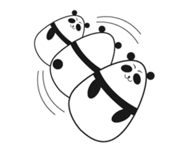 -limited time- Panda of the egg sticker #286599