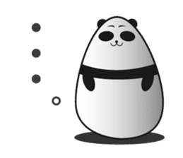 -limited time- Panda of the egg sticker #286622