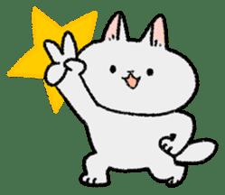 Mocchi cats sticker #287549