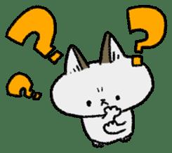 Mocchi cats sticker #287553