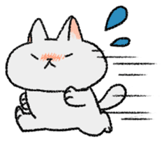 Mocchi cats sticker #287555