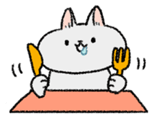 Mocchi cats sticker #287565
