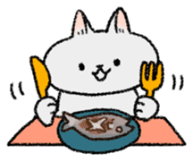 Mocchi cats sticker #287566