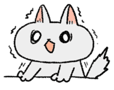 Mocchi cats sticker #287570