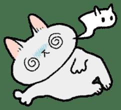 Mocchi cats sticker #287572
