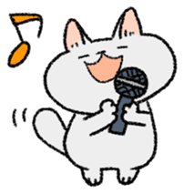 Mocchi cats sticker #287573