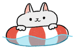 Mocchi cats sticker #287574