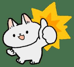 Mocchi cats sticker #287576