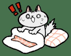 Mocchi cats sticker #287580
