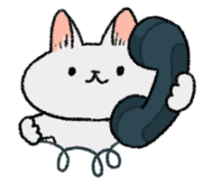 Mocchi cats sticker #287581