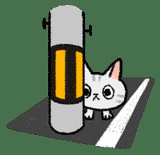 Mocchi cats sticker #287583