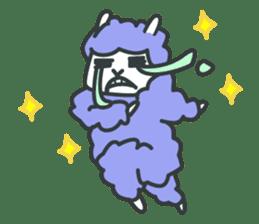 alpaca sticker #287591