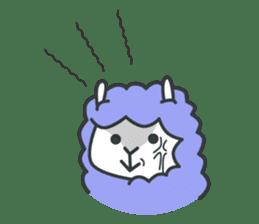 alpaca sticker #287597