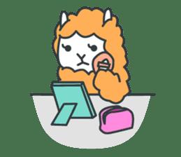 alpaca sticker #287601