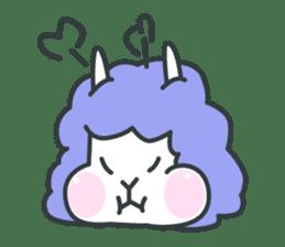 alpaca sticker #287615