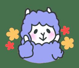 alpaca sticker #287616