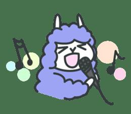 alpaca sticker #287617