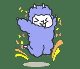 alpaca sticker #287619