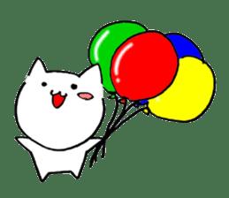 Cat sometimes Fox. sticker #287945