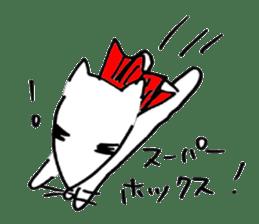 Cat sometimes Fox. sticker #287948