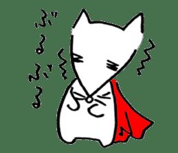 Cat sometimes Fox. sticker #287951